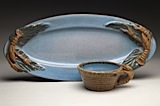 Oval Platter with Bowl