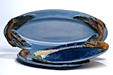 Oval Platter and Plates